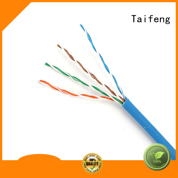 Taifeng Electronics gradely cat5e ethernet cable factory price for switch cabinet