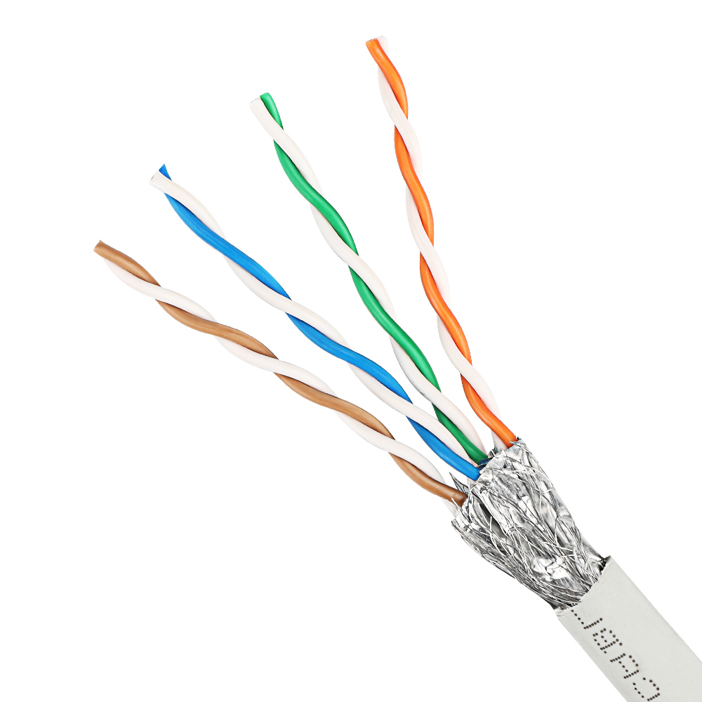 Taifeng pvc cm 40G bps SSTP CAT8 ethernet flylead patch cable