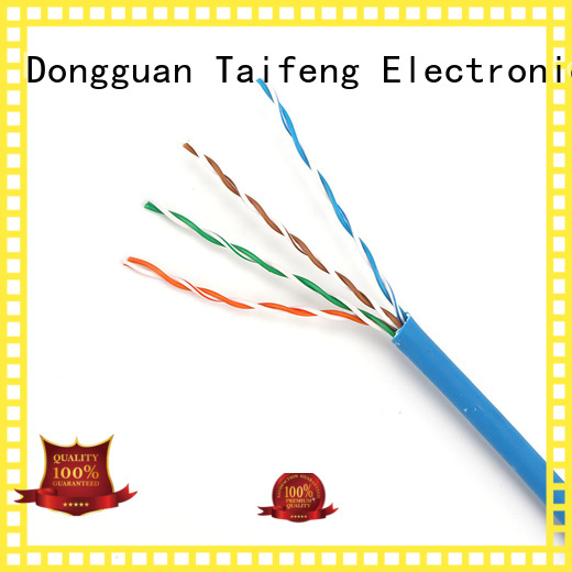 Taifeng Electronics first-rate cat 5 cable factory price for Suburban use