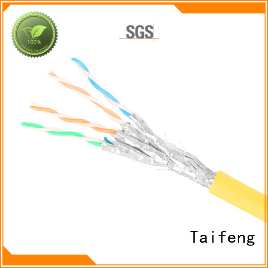 Taifeng Electronics multi-use cat 8 cable experts for switch cabinet