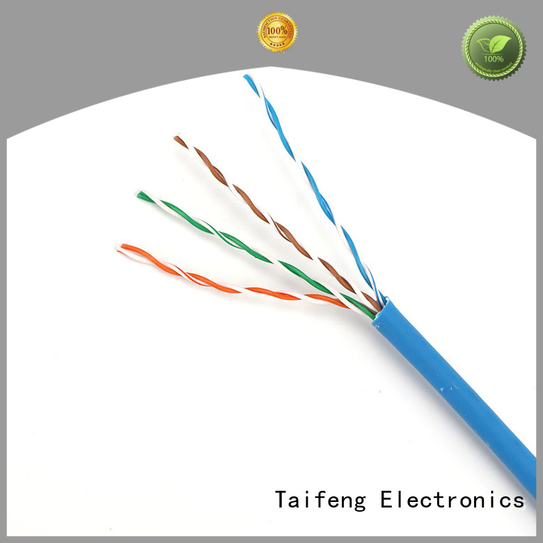 Taifeng Electronics roll cat5e patch cable owner for home use