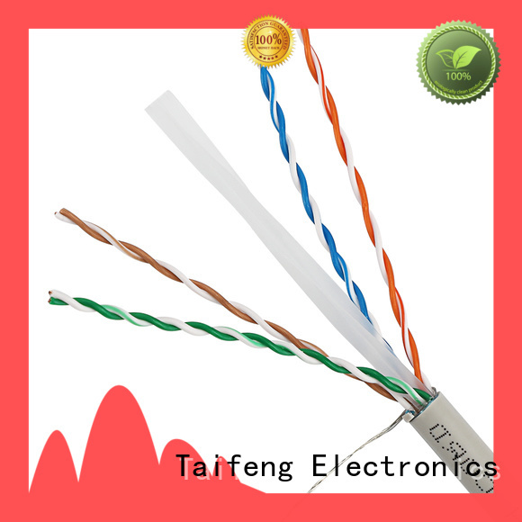 Taifeng Electronics stable outdoor ethernet cable factory for rural use
