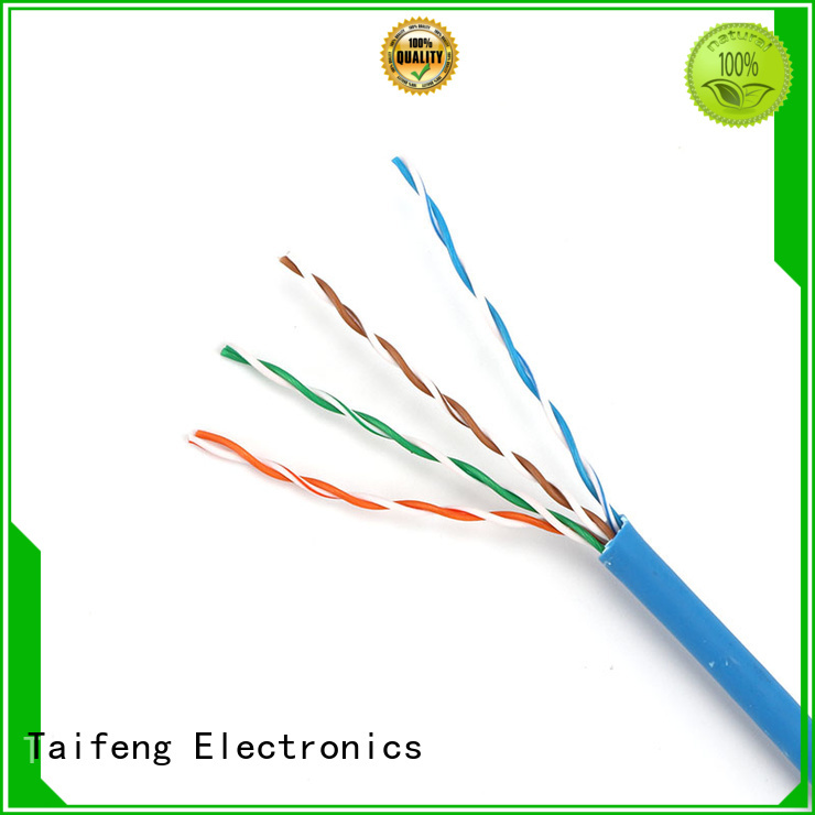 Taifeng Electronics roll cat5e ethernet cable factory price