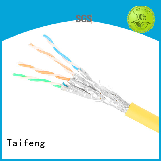 Taifeng Electronics industry-leading cat 8 ethernet cable bulk production