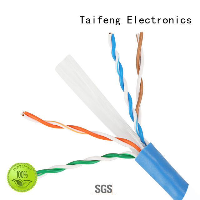 Taifeng Electronics new-arrival cat 6 cable bulk production for home use