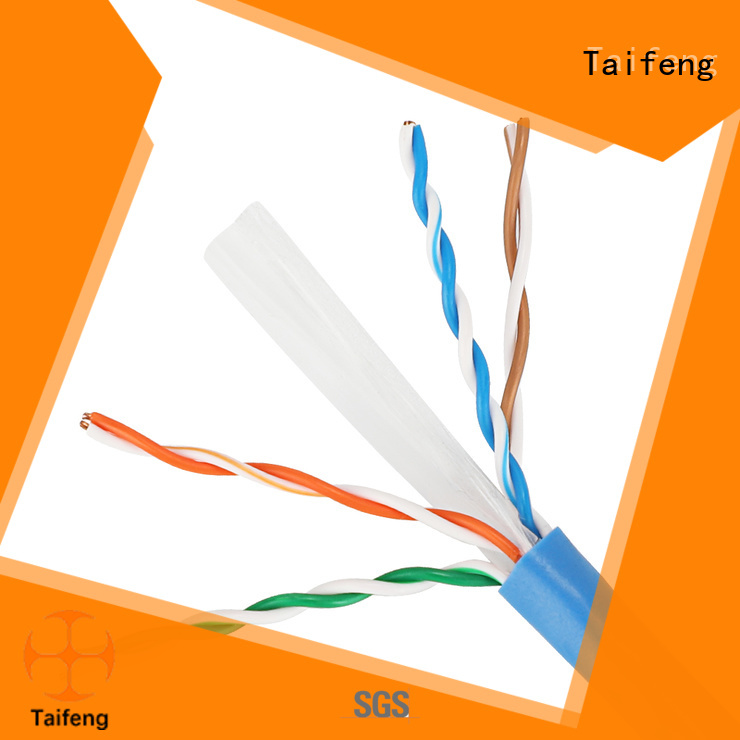Taifeng Electronics networking cat 6 ethernet cable free quote for hotel