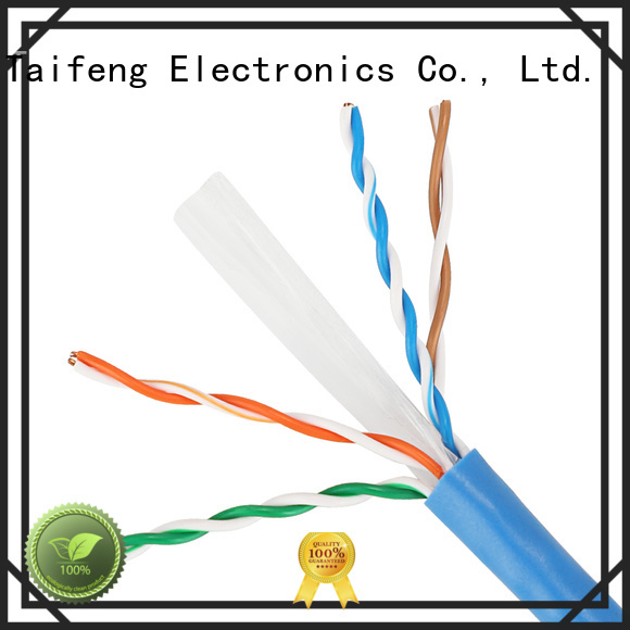 Taifeng Electronics reliable cat 6 ethernet cable factory price