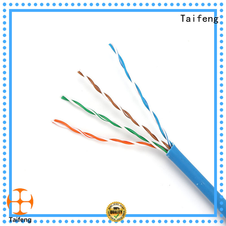 Taifeng Electronics durable cat5e patch cable experts for Suburban use