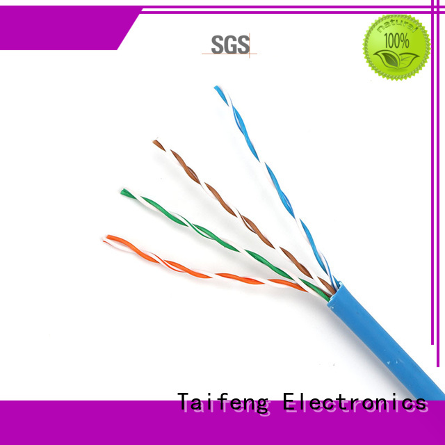 Taifeng Electronics fine-quality cat5e patch cable experts for Suburban use