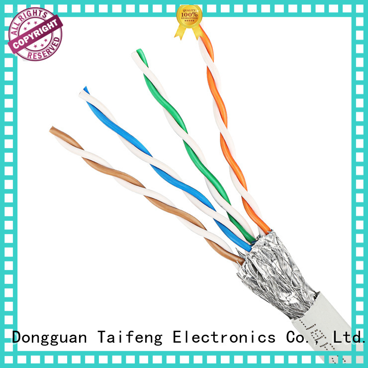 Taifeng Electronics cm cat 8 ethernet cable wholesale for hotel