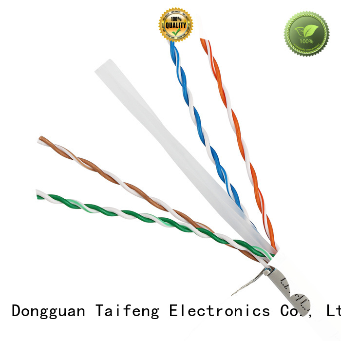 stable outdoor cat5 cable lan cable bulk production for Suburban use