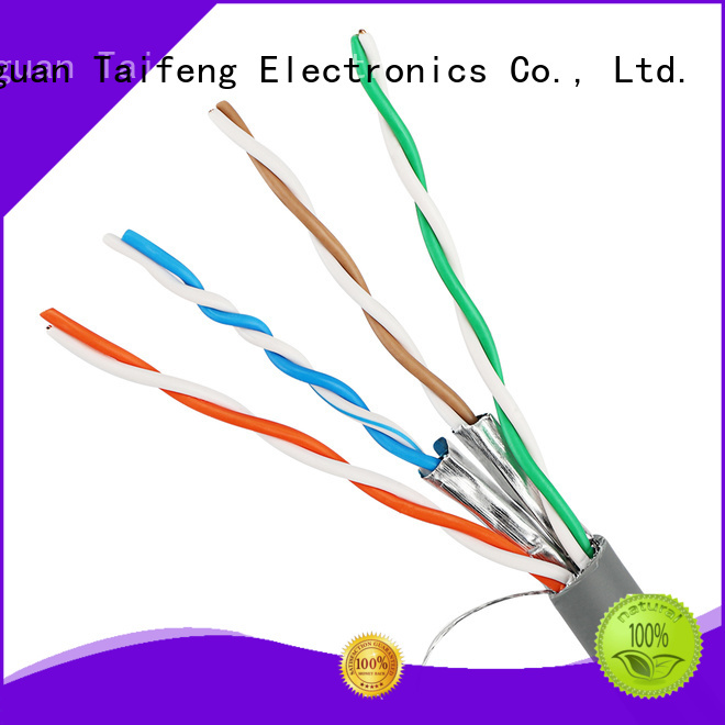 Taifeng Electronics conductor cat 6a cable factory price for home use