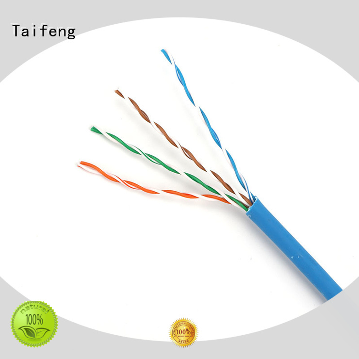 Taifeng Electronics stranded cat5e ethernet cable owner for hotel