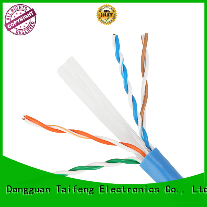 low cost cat6 ethernet cable 105854pairs wholesale for Suburban use