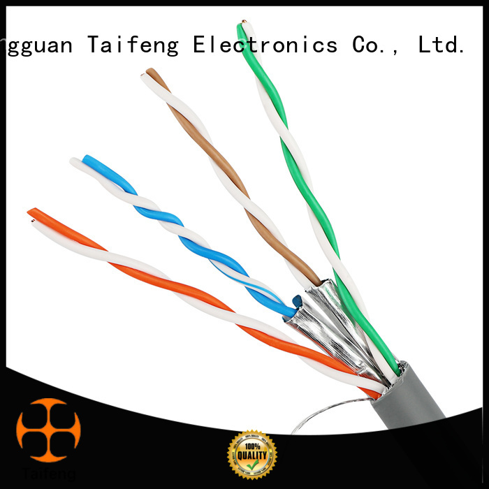 Taifeng Electronics taifeng cat6a cable price supplier for rural use