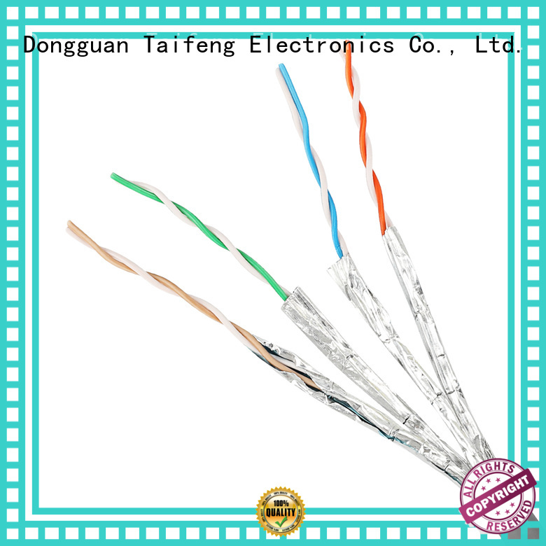 Taifeng Electronics 4p cat6a ethernet cable owner for hotel