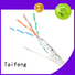 Taifeng Electronics stable outdoor cat5 cable wholesale for Suburban use
