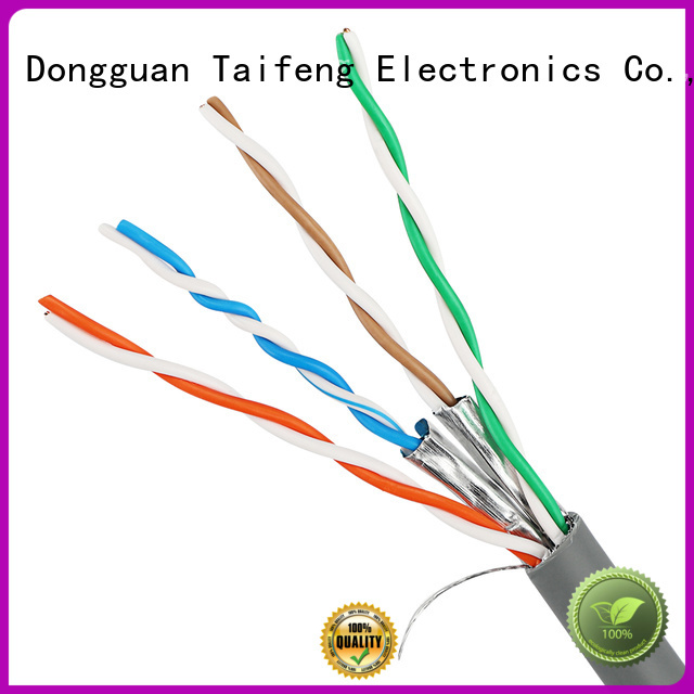 Taifeng Electronics new-arrival cat6a ethernet cable owner for rural use