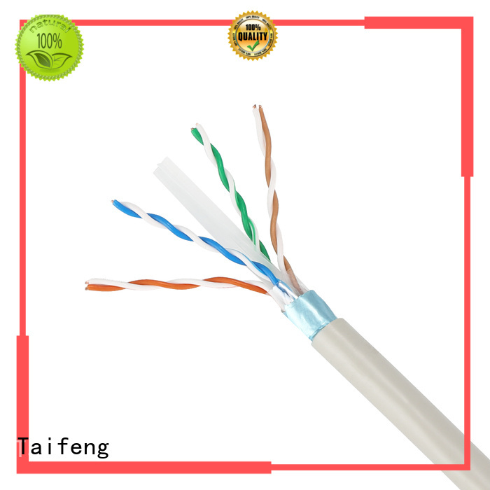 Taifeng Electronics cable cat6a lan cable supplier for rural use