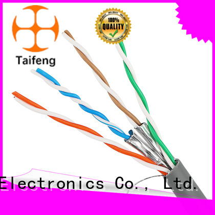 Taifeng Electronics cat6a lan cable manufacturer for hotel