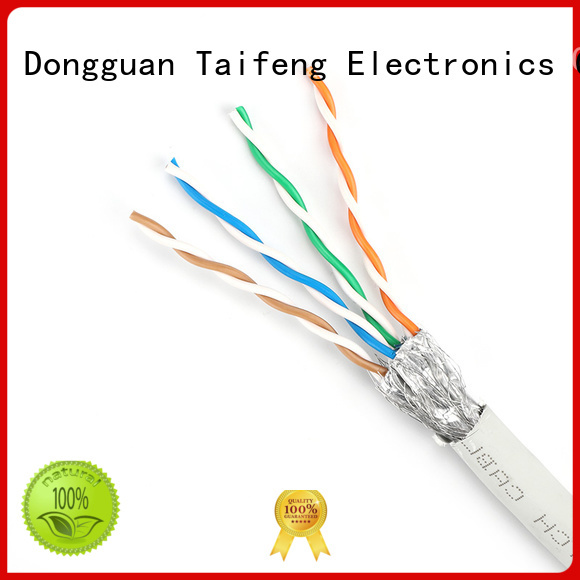 Taifeng Electronics taifeng shielded ethernet cable bulk production for home use