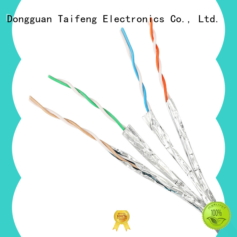 Taifeng Electronics outsite outdoor cat5 cable factory for rural use