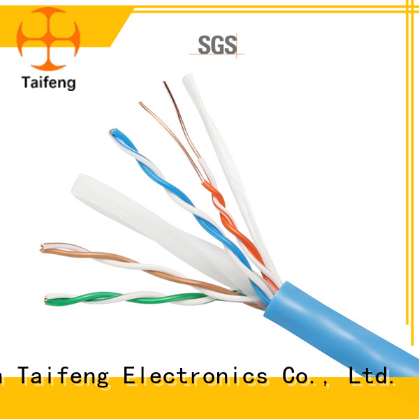 Taifeng Electronics bare cat6 cable factory price for hotel