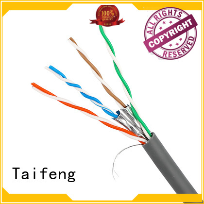 Taifeng Electronics copper cat5e cable owner for switch cabinet
