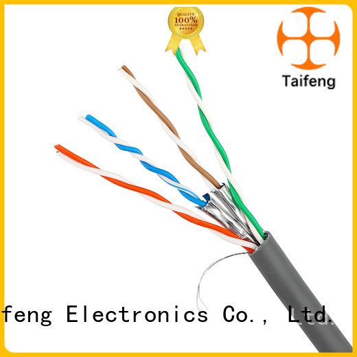 Taifeng Electronics reliable cat5e cable factory for rural use