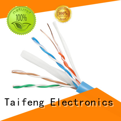 Taifeng Electronics useful cat 6 cable bulk production for home use