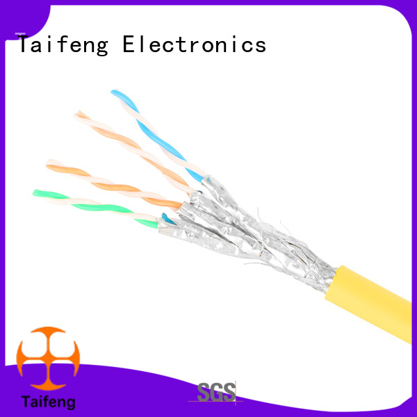 Taifeng Electronics reliable cat8 ethernet cable wholesale for rural use