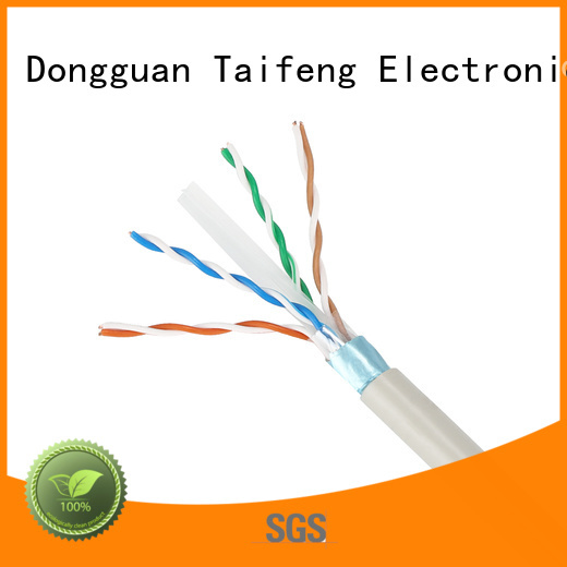 Taifeng Electronics network cat6a ethernet cable wholesale for Suburban use