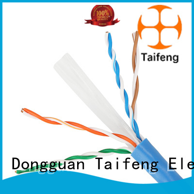 Taifeng Electronics advanced cat 6 ethernet cable free quote for switch cabinet