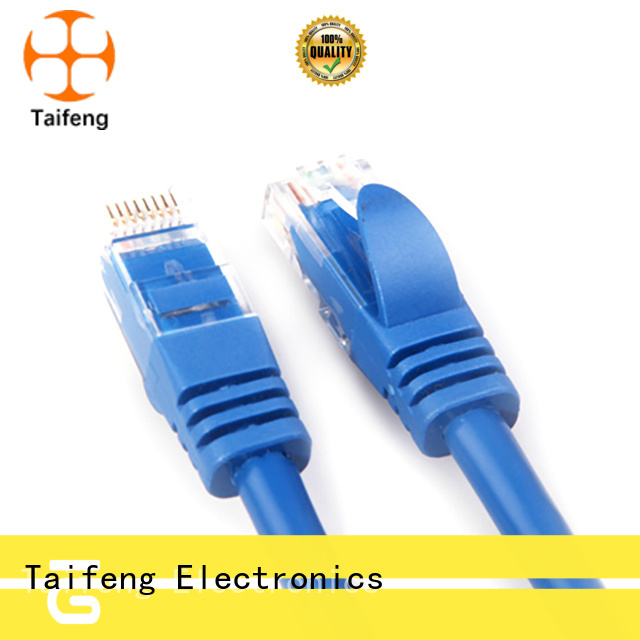 Taifeng Electronics patch cord cable manufacture for switch cabinet