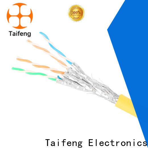 Taifeng Electronics first-rate cat 8 ethernet cable bulk production for home use