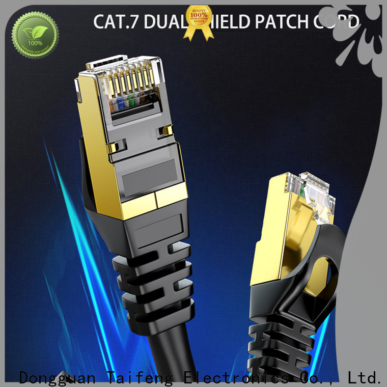 Taifeng Electronics low cost patch cord cat 6 experts for switch cabinet