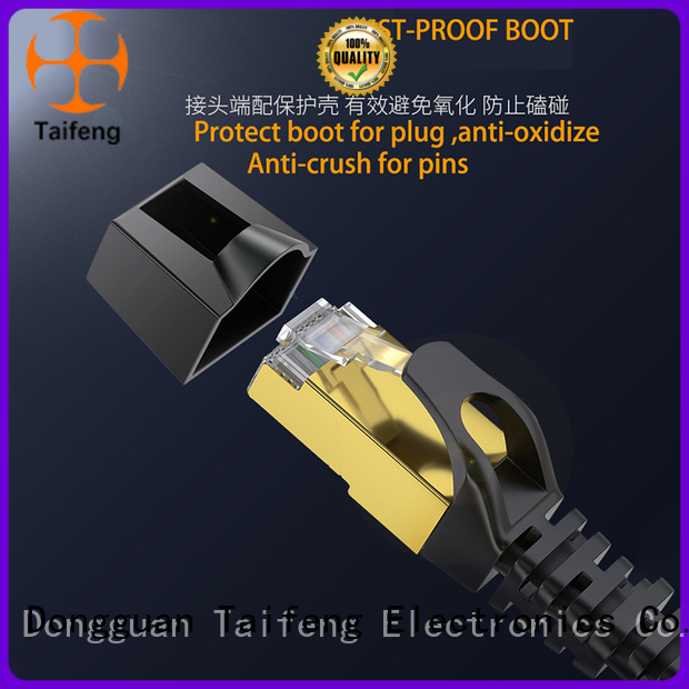 Taifeng Electronics patch cord cat6 owner for hotel
