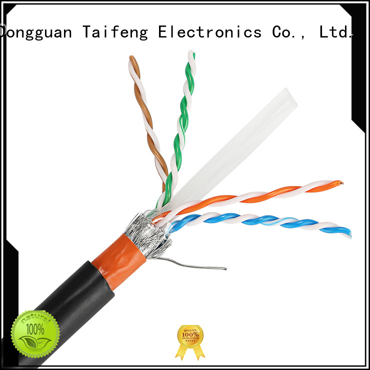 Taifeng Electronics solid types of network cables manufacturers for Suburban use